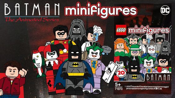 Lego Batman The Animated Series 27th Anniversary Cmf Series With
