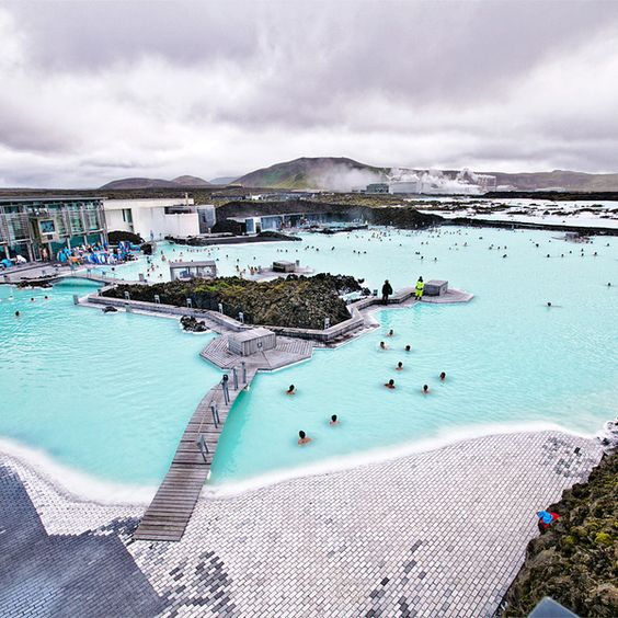Blue Lagoon Thermal Spa in Iceland >>> I would love to go here!