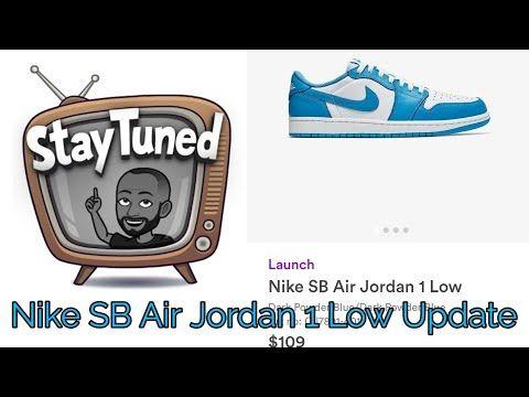 NIKE SB Air Jordan 1 Low UNC Raffle