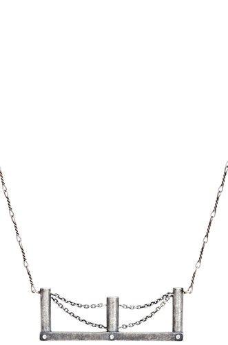 Bridge Necklace | Sterling Silver - $75.: Bridge Necklace, Necklaces, Bridges