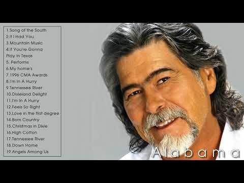 Top Alabama Songs Alabama Greatest Hits Playlist 2019 Youtube Di 2021 Lagu Playlist Alabama