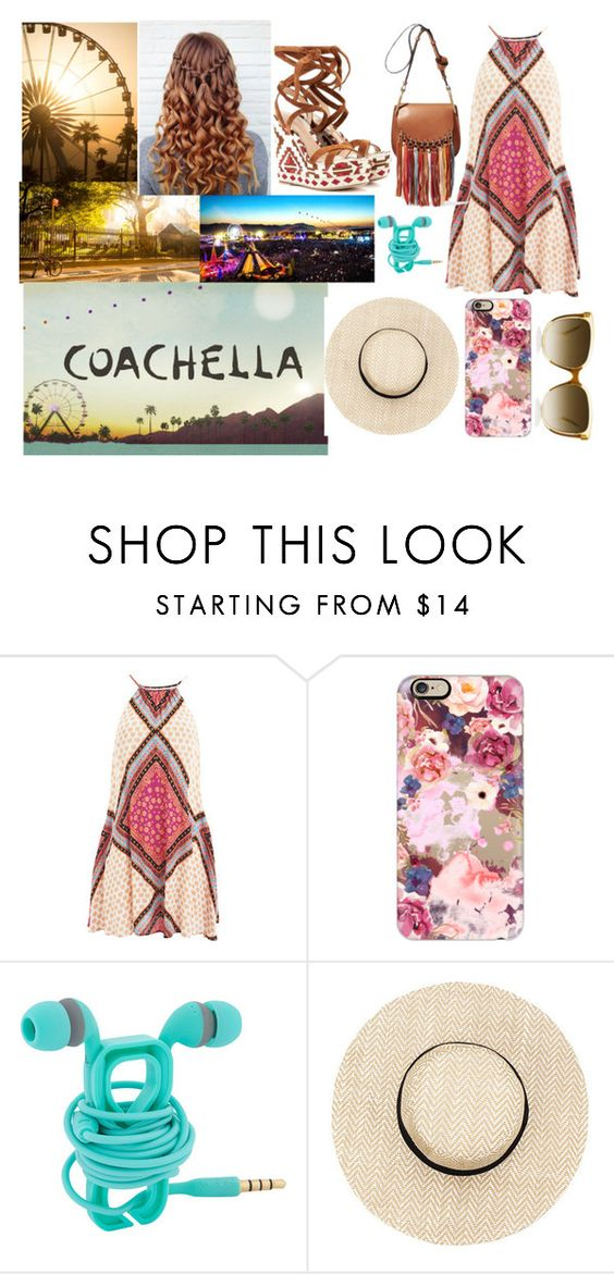 """Coachella"" by ivy-mary-clark ❤ liked on Polyvore featuring MINKPINK and Casetify"