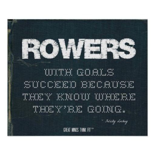 rowing machine goals