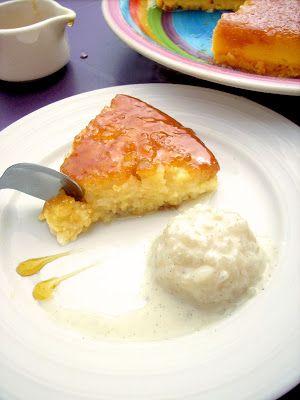 Gâteau de Riz au Lait / Caramel Citron Vert