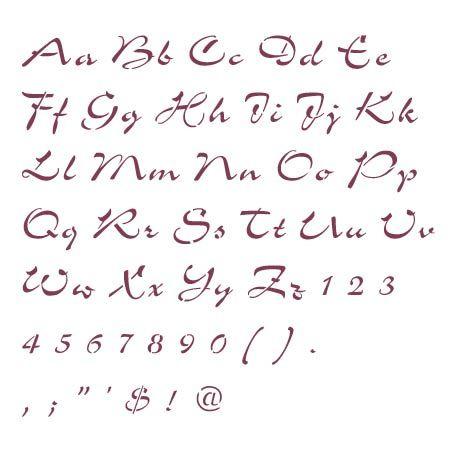 drama in bubble writing alphabet