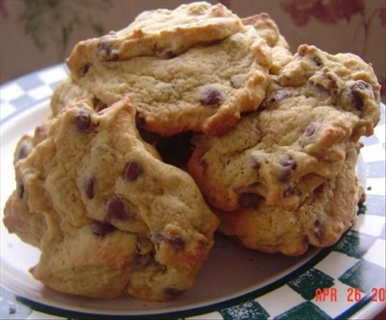 Pudding Chocolate Chip Cookies.