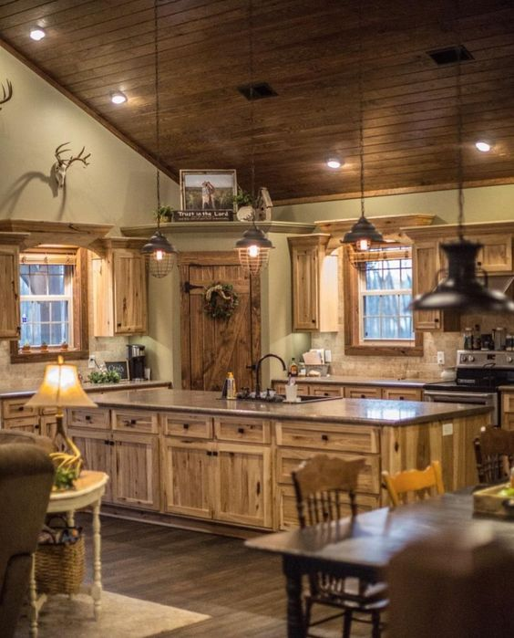 Rustic Kitchen Ideas - Do you intend to escape the hectic city life? This write-up includes 30 countrified kitchen styles that include a spectacular rustic style to your kitchen ... #rustickitchen #kitchenideas #rustickitchencupboards