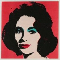 "Andy Warhol: ""Liz"", 1964, signiert. HIER ONLINE BESTELLEN!"