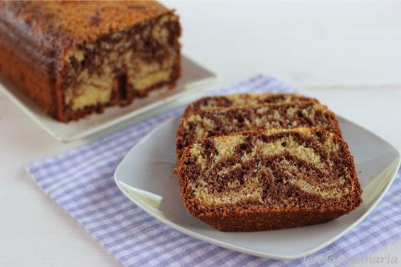 Bizcocho de chocolate y plátano en panificadora | Comer con poco