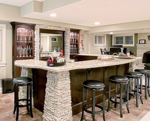 Exciting Home Bar Design Ideas | Cheers To The Weekend: Bar Inspiration |  Pinterest | Bar, Basements And Men Cave