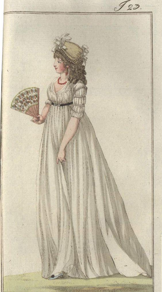 1796 Journal des Luxus und der Moden: