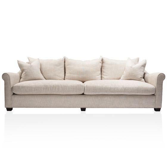Belgian Rolled Arm Sofa
