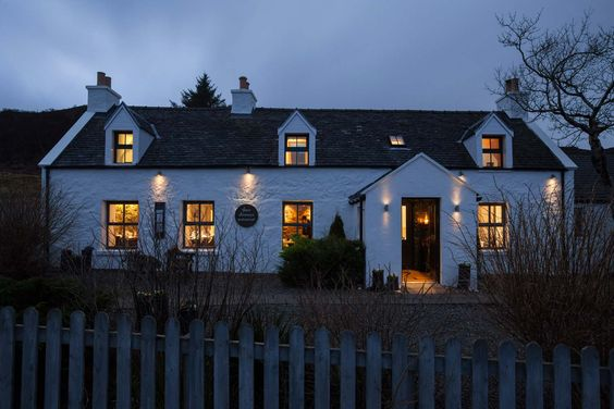 Welcome to The Three Chimneys, a World-renowned Scottish restaurant with 5-star accommodation, situated in awe-inspiring surroundings beside the sea in the Isle of Skye.