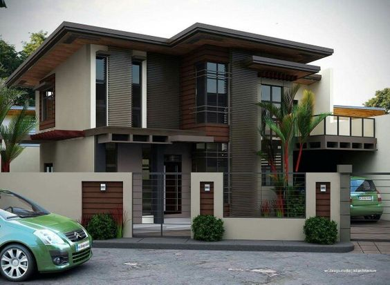 2 storey house with balcony exterior pinterest house for Exterior design of 2 storey house