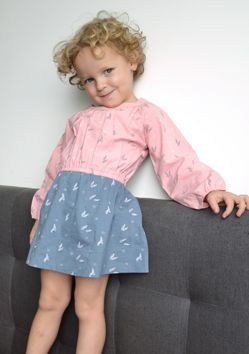 WINTER COLLECTION / La Queue Du Chat / Hello Autumn! Little Frenchy brings cute prints to a little girl's wardrobe with pretty colors. www.littlefrenchy.com.au #french #dress #laqueueduchat #new #winter #littlefrenchy
