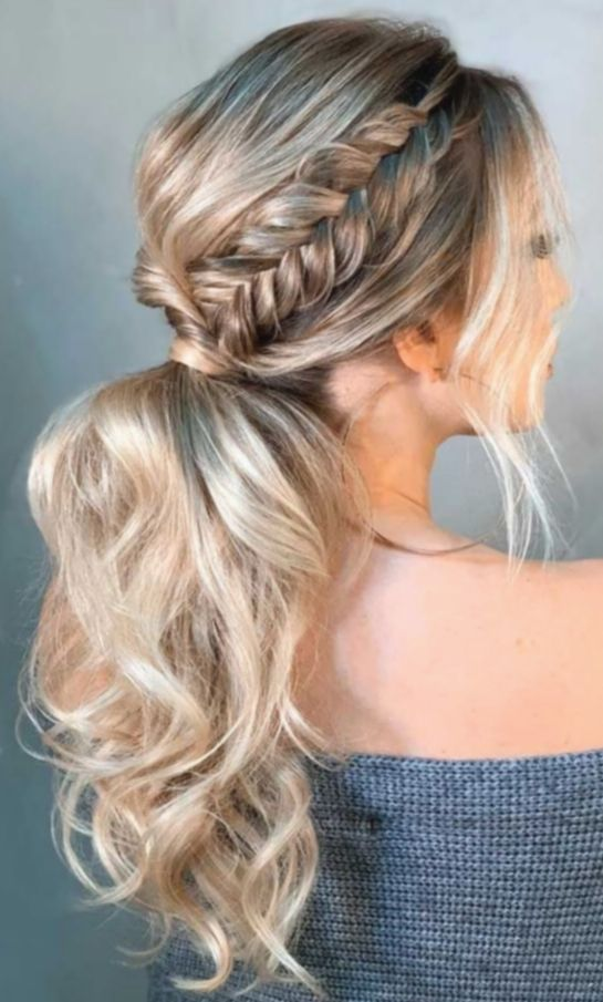 8 Hairstyles Prom Updo Simple In 2020 Cute Prom Hairstyles Ponytail Hairstyles Hair Styles