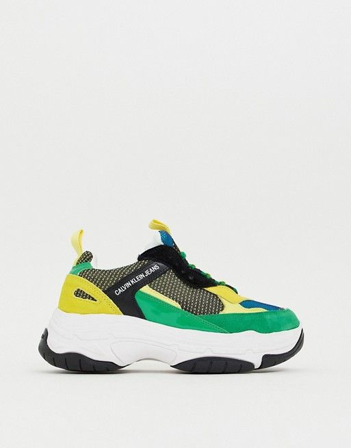 Calvin Klein Marvin chunky sneakers in