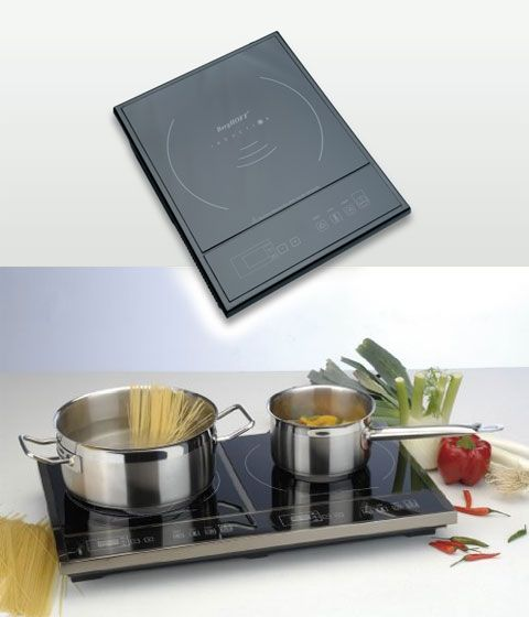 unique about induction cooking that heat created