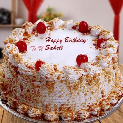 Sensational Butterscotch Birthday Wishes Name Cake Photo Send With Images Funny Birthday Cards Online Hetedamsfinfo