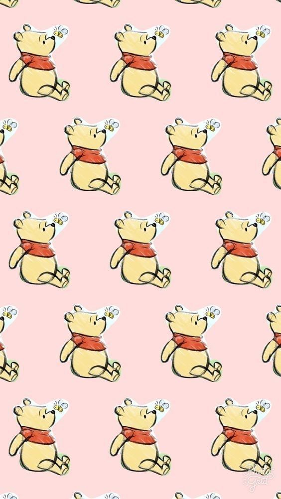 Image About Cute In Disney By Disney On We Heart It Cute Winnie The Pooh Disney Phone Wallpaper Winnie The Pooh Background