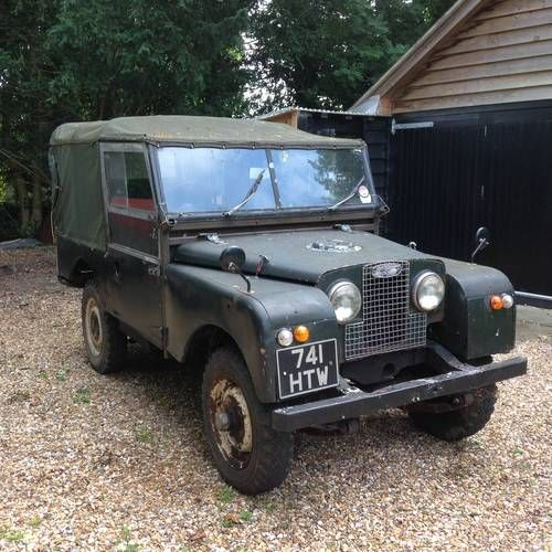 1956 Series 1 Land Rover For Sale