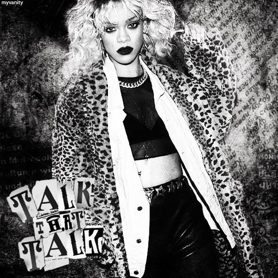 Rihanna - 'Talk That Talk' (FanMade cover) made by MyVanity