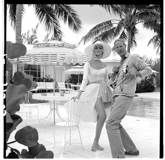 photo by fashion photographer Norman Parkinson 1913-1990