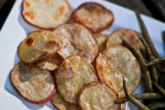 Homemade Salt and Vinegar Chips
