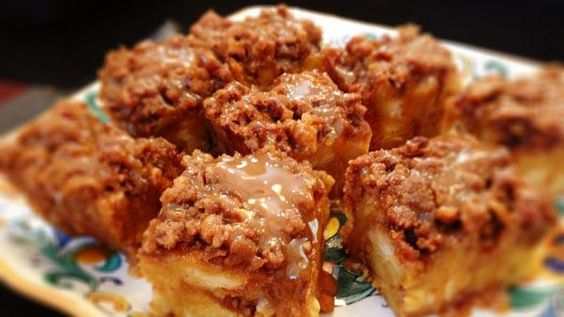 Carnie Wilson's Pumpkin Caramel Praline Bread Pudding
