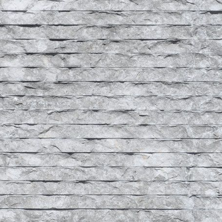TUNDRA BLUE (RUSTIC CHISELED): Combing pattern finely applied in a parallel direction.