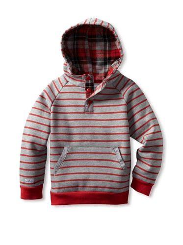 60% OFF Questkids Boy's Hoodsteez (Red)