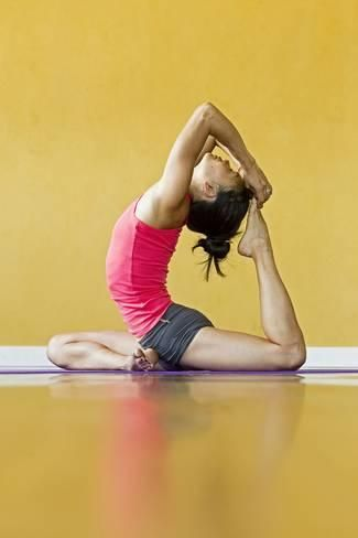 Eka Pada Kapotasana Or One-Legged Pigeon Pose