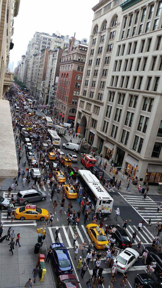 BLM Protest Blocking 5th Avenue - New York NY