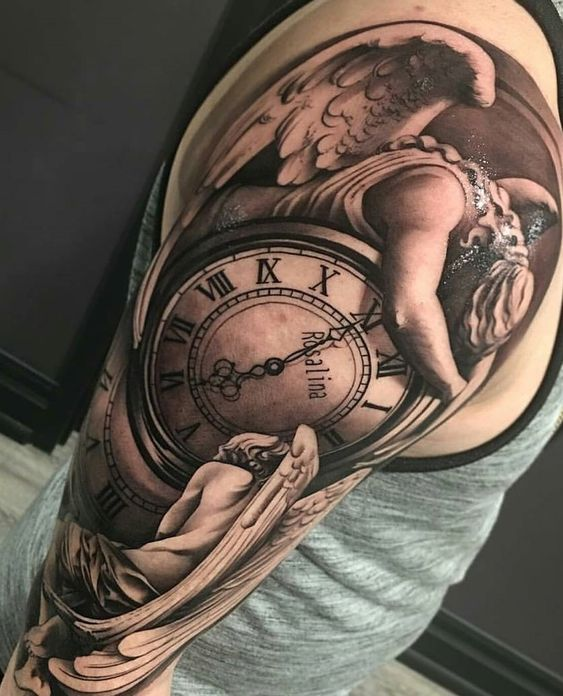 Pin By Paul Lighthill On Tattoos Full Sleeve Tattoos Watch
