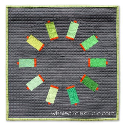 Sew Many Colorsmini quilt | whole circle studio