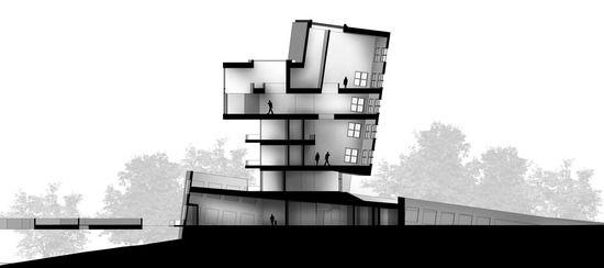 section black & white escala de grises