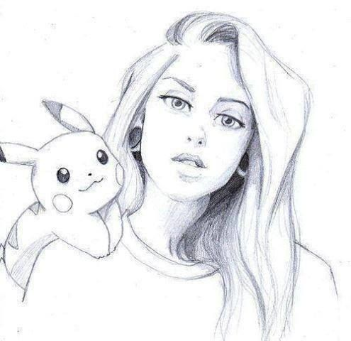Pikachu art, Illustrations and Girl drawings on Pinterest
