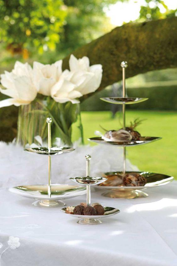 Fink Etagere Sweets versilbert kaufen im borono Online Shop