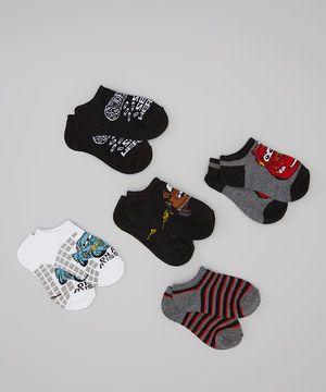 Loving this Black & White Cars Socks Set on #zulily! #zulilyfinds