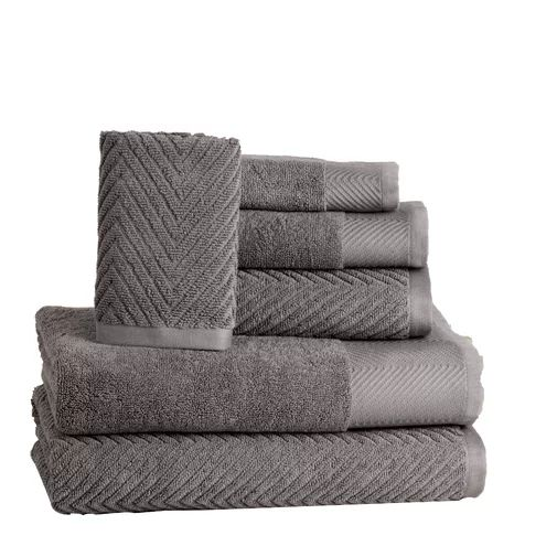 6 Piece 100 Cotton Towel Set Towel Set Cotton Bath Towels Cotton Towels