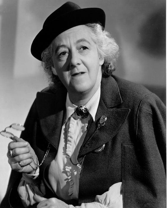 Dame Margaret Taylor Rutherford, DBE (11 May 1892 – 22 May 1972), English character actress,