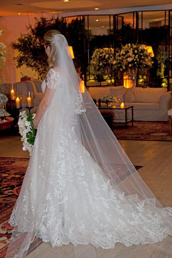 Bruna Paraíso ♥ Rodrigo Talarico  Vestido de noiva: Wanda Borges