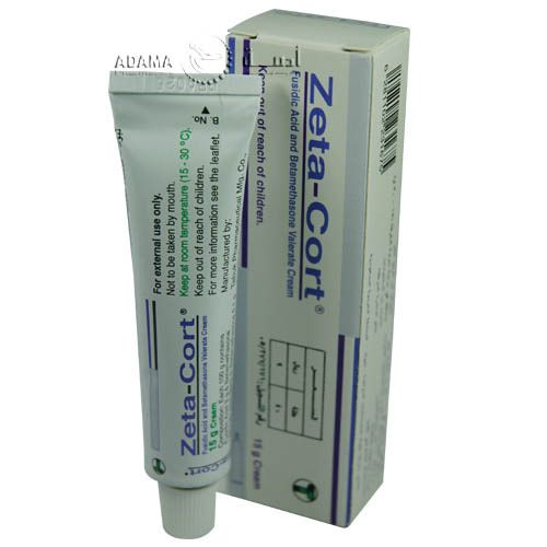 زيتا كورت كريم مضاد للالتهابات الجلدية والعدوى البيكتيرية Zeta Cort Cream Cream Leaflet Pharmacy