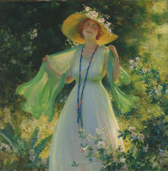 Charles Courtney Curran<br>1861 - 1942 | lot | Sotheby's