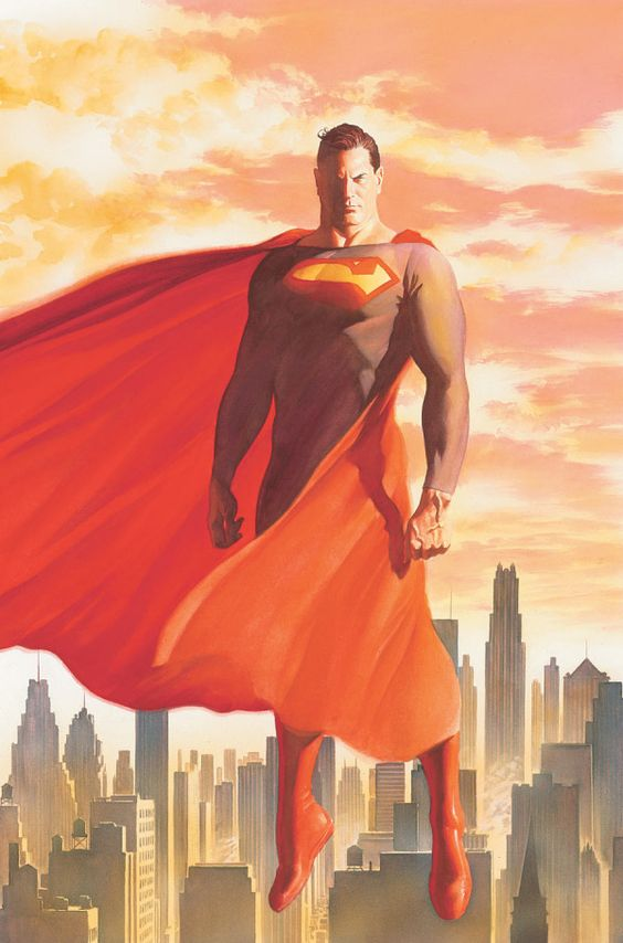 Superman, by Alex Ross.  I don't even like Superman, and this is great