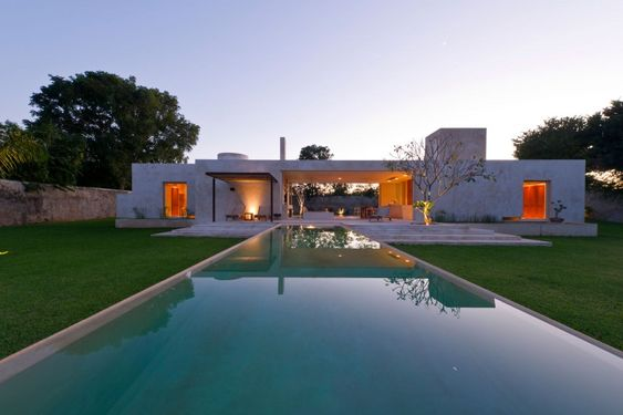 The 'Hacienda Sac Chich' located in Yucatan, Mexico - Designed by Reyes Ríos + Larraín Arquitectos