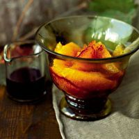 Fresh Oranges with Spiced Red Wine Syrup | Food + Drink + Recipes ...