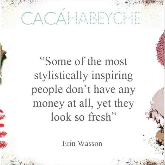 Frase da atriz Erin Wasson publicada na revista Porter. Autoconhecimento é das coisas mais fabulosas e gratificantes que você pode fazer por você mesmo. https://www.instagram.com/p/BCZBui-CMOE/?taken-by=cacahabeyche