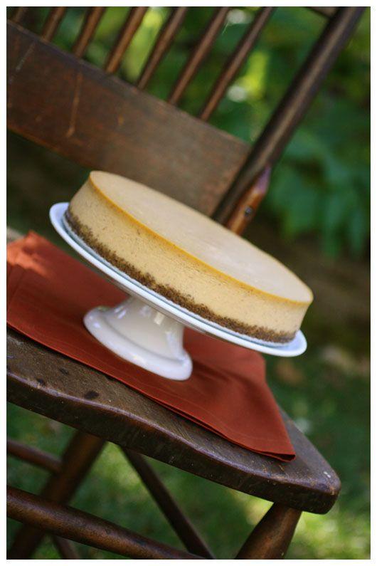 pumpkin cheesecake. Yummy!