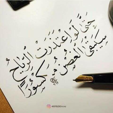 حتى لو اعتذرت الرياح سيبقى الغصن مكسورا اقتباس Words Quotes Romantic Quotes Beautiful Arabic Words